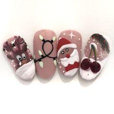 Christmas Nail Art, Photo And Video, Instagram, Polish, Ongles