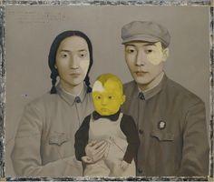 """Zhang Xiaogang, """"Bloodline: Big Family: Family No. 2"""""""