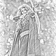 Merida by elsartist