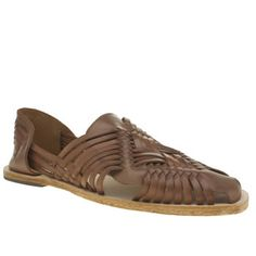 H by Hudson Tan Bonita Weave Slip On Mens Sandals Trust in H by Hudson to keep your footwear game on top form, as the Bonita Weave Slip On arrives for the new season. The tan leather upper features a woven construction for extra on-trend points, sitt http://www.MightGet.com/january-2017-13/h-by-hudson-tan-bonita-weave-slip-on-mens-sandals.asp