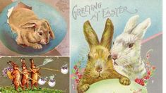 Hare with mark board 9cm Easter bunny Easter decoration ore mountains NEW