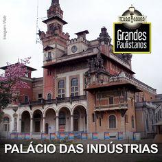 #GrandesPaulistanos Localizado no centro de São Paulo, o palácio de estilo eclético modernista, inaugurado em 1924, foi um espaço concebido inicialmente para exposições agrícolas e industriais, hoje abriga o Museu Catavento, um museu dedicado às ciências. Um pedaço de história no coração da cidade!
