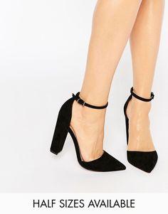 Image 1 ofASOS PENALTY Pointed High Heels