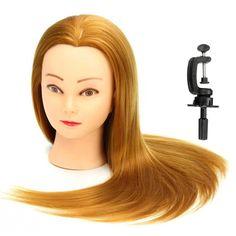 Malika haqq hairstylesmake up pinterest hair inspiration 22 inch 30 golden real human hair salon mannequin training head model hairdressing with clamp pmusecretfo Choice Image