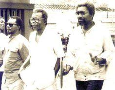 African writers - Chinua Achebe, Wole Soyinka & John Pepper Clark-Bekederemo