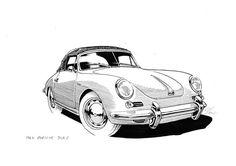Pen & ink Car Illustrations - Jeffrey Phillips — Illustrator