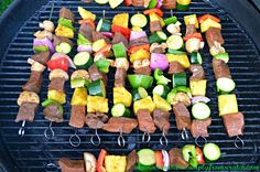 Balsamic Steak Shish Kabobs On The Grill