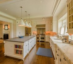 Further Lane Farm in East Hampton Designed by Architect John Murray with Interiors by Victoria Hagan
