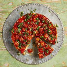Yotam Ottolenghi's harissa-spiced tuna picnic cake.