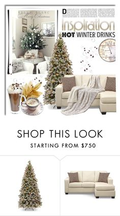 """""""Untitled #2267"""" by deeyanago ❤ liked on Polyvore featuring interior, interiors, interior design, home, home decor, interior decorating and hotwinterdrinks"""