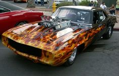 BEAUTIFUL Real Flames!!!!