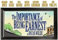 Booking from 27 June 2014 until 20 September 2014 Oscar Wilde's farcical comedy The Importance of Being Earnest runs at the Harold Pinter Theatre.