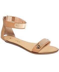 Report Shoes, Lennon Flat Sandals - Shoes - Macy's