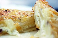 Au gratin potatoes get a holiday makeover with add-ins like rosemary and thyme, or additions like pancetta and truffle oil. Veggie Side Dishes, Potato Dishes, Vegetable Dishes, Potato Recipes, Side Dish Recipes, Snack Recipes, Cooking Recipes, Dinner Recipes, Snacks