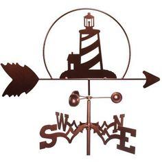 SWEN Products Lighthouse Nautical Weathervane - 1032-FLAT, Durable