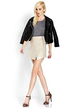 Secret Rebel Origami Skirt | FOREVER 21 - 2000088607