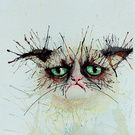 Watercolour animals Collection on Society6.