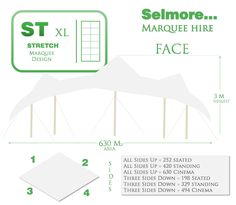 Hire stretch tents with Selmore Marquees. Marquee Hire, Tents, Stretches, Cinema, Face, Design, Teepees, Movies