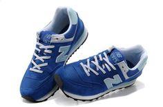 2013 nuevas zapatillas para los hombres y mujeres auténticos zapatillas de deporte respirables superficiales netos NB574