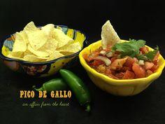 an affair from the heart: Pico de Gallo