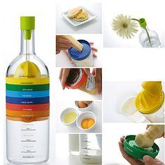 8-in-1 üveg konyhai eszközök beállítása 563371 2016 – £5.94