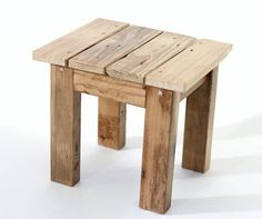 Rustic Reclaimed Wood Mini Stool/Bench by BottomsTopsAndBlocks wood projects projects diy projects for beginners projects ideas projects plans Handmade Wood Furniture, Wood Pallet Furniture, Diy Outdoor Furniture, Pipe Furniture, Woodworking Furniture, Wood Pallets, Furniture Design, Refinished Furniture, Furniture Vintage