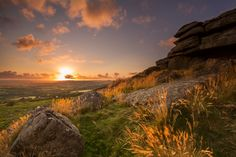 Pew Tor Gold - Dartmoor by Anna Curnow, via 500px