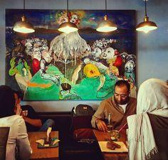 . سبوس. . . . . . . #saboos_bakerycafe #restaurant #کافه_سبوس