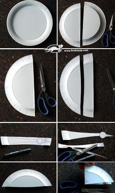 Papírový talíř STORK