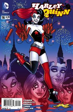 Harley Quinn #16 - Cover by Amanda Conner