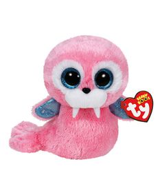 This 6   Tusk the Pink Walrus Beanie Boo is perfect!  zulilyfinds Giant a29038edce66
