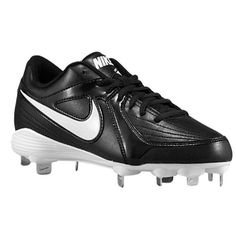 c23c52f1ce6604 Nike Womens Unify Strike Metal Softball Cleats M US Black White-Black    Check this awesome image   Shoes for Softball And Baseball