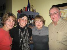 Linnea Lentz, Deb Zins, Kathy Lentz and Tome Lentz - Thanksgiving 2011