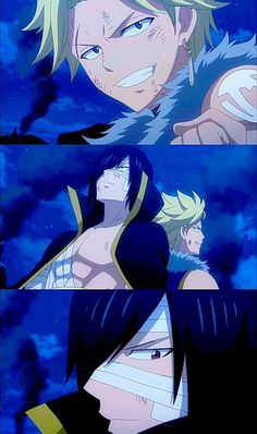 Yukino is so lucky, Rogue is gorgeous and Sting has cool pant boot things Image Fairy Tail, Fairy Tail Love, Fairy Tail Anime, Fairy Tail Sabertooth, Anime Characters Male, Fairy Tail Sting, Laxus Dreyar, Fairy Tail Pictures, Shadow Dragon