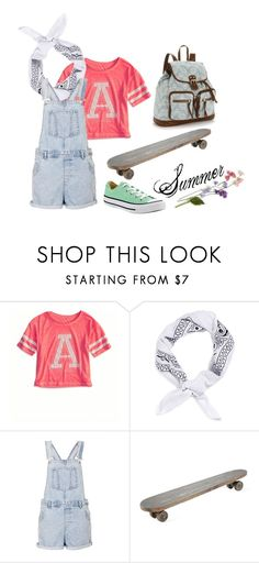 """""""Summer"""" by momockapai ❤ liked on Polyvore featuring American Eagle Outfitters, Topman, Converse, Topshop and Mudd"""