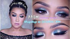 Maquillaje de GRADUACION economico /PROM Affordable makeup tutorial 201...