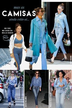 All jeans reloaded: as combinações com jaquetas são o foco da vez! - Garotas Estúpidas - Garotas Estúpidas