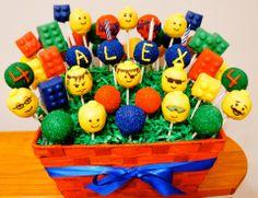 Lego Cake Pops