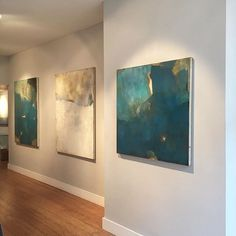 Last week of my solo show at @cadogan_contemporary #london #art #abstract #chelsea # Open til Saturday so pop along!