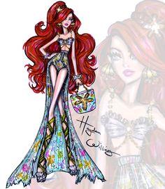 Disney Divas 'Beach Beauties' by Hayden Williams: Ariel
