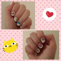 SNSD Twinkle Inspired Nails by Anna
