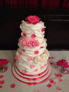 Rose ruffle- would be great for a little girls birthday