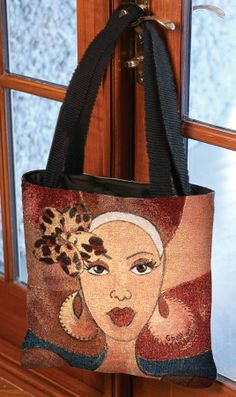 "New Tote Bags For Mother's Day! ""Brown & Gold"" by #Gbaby 