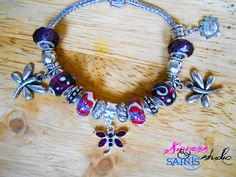 Sin City Dragonflies Bracelet