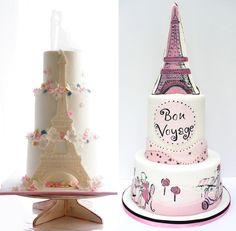 Inspiração, Bolos, Tema Paris, Festa de 15 anos, Debutantes Paris Birthday Cakes, Paris Themed Cakes, Paris Birthday Parties, Paris Cakes, Paris Party, 21st Birthday, Birthday Ideas, Bolo Paris, Kinds Of Desserts