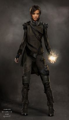Jubilee concept art for X-Men: Days of Future Past