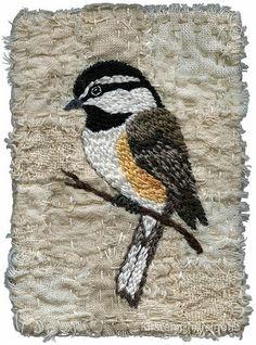 Chickadee, Perched by Kirsten Chursinoff, via Flickr