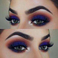 When it comes to eye make-up you need to think and then apply because eyes talk louder than words. The type of make-up that you apply on your eyes can talk loud about the type of person you really are. Gorgeous Eyes, Gorgeous Makeup, Love Makeup, Makeup Inspo, Makeup Art, Makeup Ideas, Makeup Style, Fall Makeup Looks, Amazing Makeup