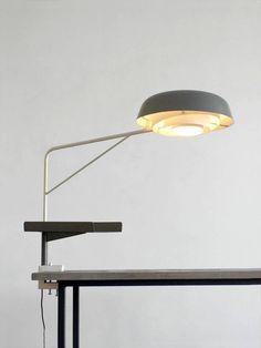 1950 Henri Lancel and Robert Mathieu Agrafée Clamp Desk Lamp 2