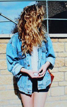 Denim Jean Jacket - http://ninjacosmico.com/18-must-have-grunge-accessories-clothing/5/